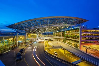 PDX Portland Airport where we pick you up and drop you off with our transportation shuttles.