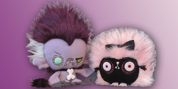 Vamplets plush prototypes