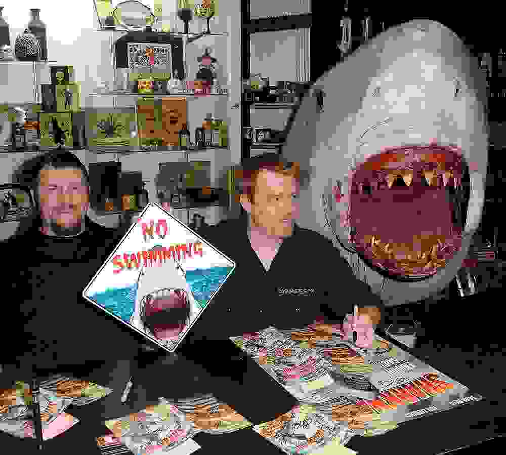 Synapse FX's Joe Cornell and Josh Foster participates in the Sharknado DVD Signing.