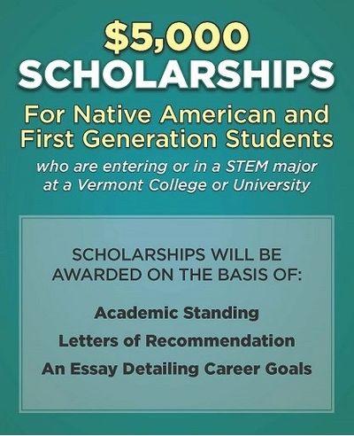Scholarships Nulhegan Abenaki Tribe