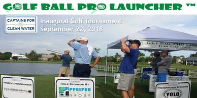 Golf, golf entertainment, Golfballlauncher , Charity, Fundraising , sponsorship, Par 4 , Par 5,  Golf Contest