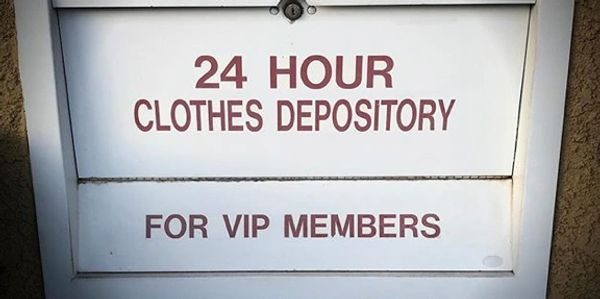24 Hour Dry Cleaning Drop Off for VIP Customers!