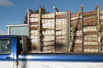 We offer firewood delivery at Koi Lagoon in Fort Collins.