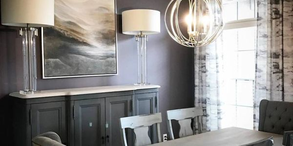 dining room, modern, traditional, design, interior, fresh, moody, lighting, art, custom, chandelier