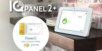 The most powerful security and smarthome platform gets Dual SRF featuring PowerG The IQ Panel 2 Plus