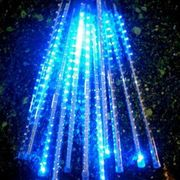 LED Snowfall lights blizzard tubes meteor tube