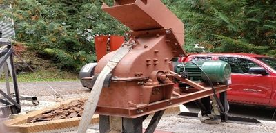 ELECTRIC POWERED HAMMER MILL
