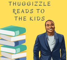 Thuggizzle reads to the kids