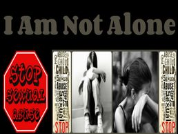 I am not alone support group for sexual abuse victims - Thuggizzle Cares