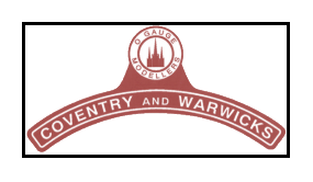 Coventry and warwickshire Gauge O guild