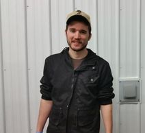 A picture of Stephen Furry, our vineyard manager.