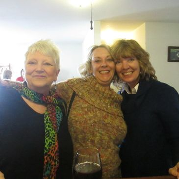 Picture of 3 happy ladies.