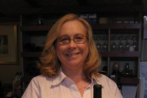 A picture of our beautiful owner Emily White. Her smile lights up the tasting room.
