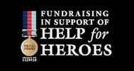 Fundraising in support of HELP for HEROES Logo