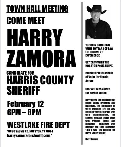 Harris County Sheriff Candidates