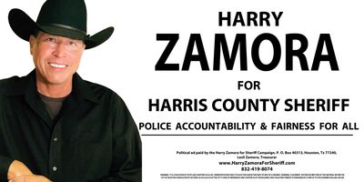 Harry Zamora for Sheriff