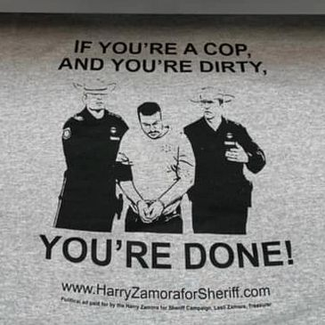 Harry Zamora will fight cops that lie on affidavits.