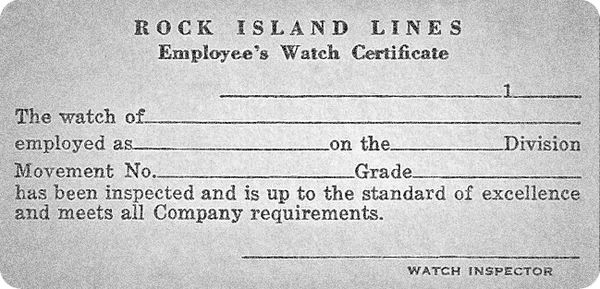 Rock Island Watch Company