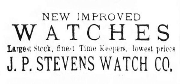 J P Stevens Watch Company
