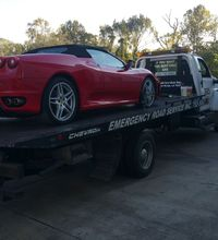 Emergency Road Service Towing Tire Repair Tow Truck Emergency