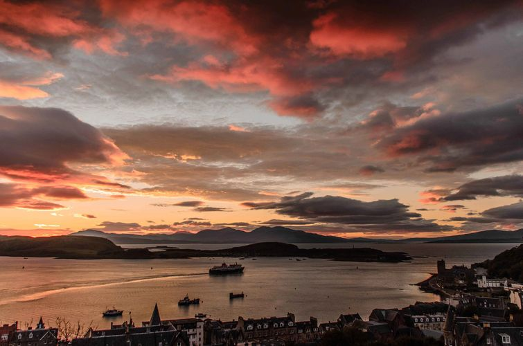Oban, Argyll, in the Highlands of Scotland, home of the Argyll Convention - annual Bible conference