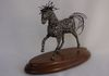"My Primitive Horse  (9"" x 12"" w/base)  $435.00 (See at On The Edge Gallery)"