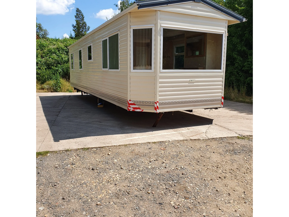 Static Caravan For Sale Off Site 20 Bedroom With DG And CH 200FT X 20FT