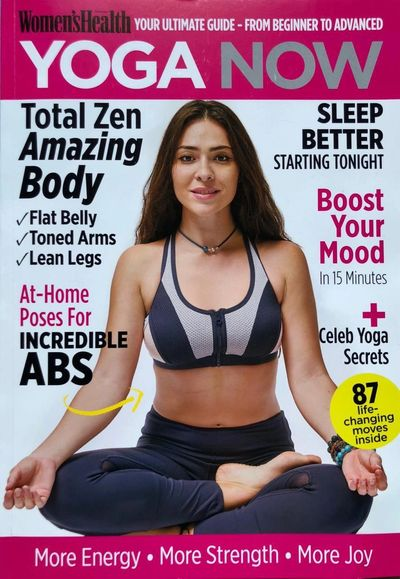 On the Cover of a Woman'sHealth Magazine