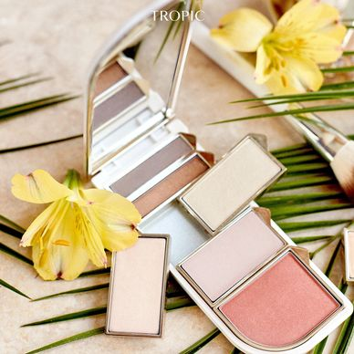 makeup palette, refillahle, sustainable. green beauty
