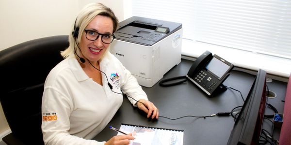 Sally will be happy to supply a fantastic quotation for your new Canon printer, photocopier, scanner