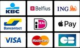 paid by card taxi brussels airpor t