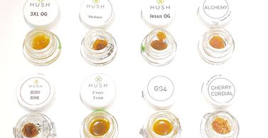 1 gram Hush Cannabis Concentrates