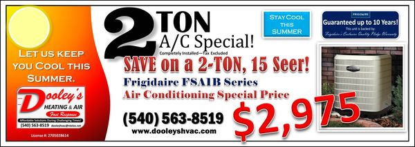 Woods heating, frigidaire, cundiff heating, hvac contractor, johnston cooling, hvac installation.