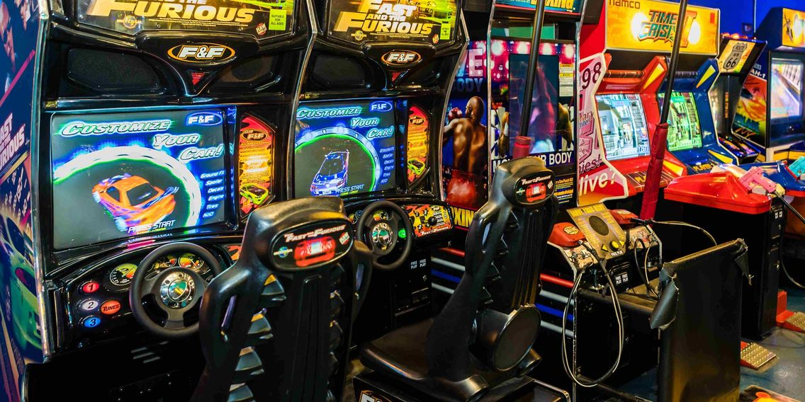 PlayPort has some of the hottest Arcade Games around!