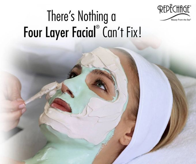 The Four Layer Facial at Lee's Studio in Parkersburg, West Virginia, can fix anything.