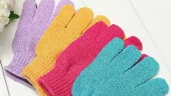 Use exfoliating gloves starting 48 hours AFTER waxing appointment.