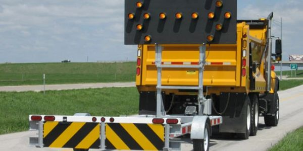 attenuator truck or crash truck service we provide for customers