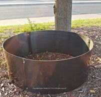 10 ga Steel Fire Pit Liners. See our complete selection liner with and with out Top Rim