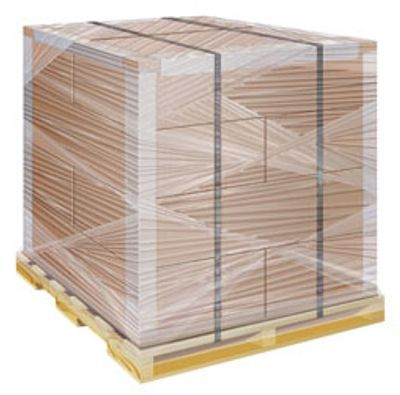 Stretch film, stretch wrap, strapping, shipping material