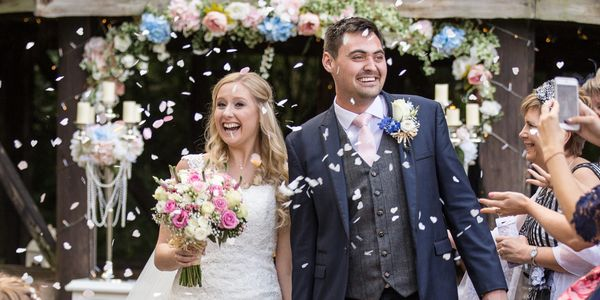 foral Summer Wedding - Manley Mere Wedding Photographer