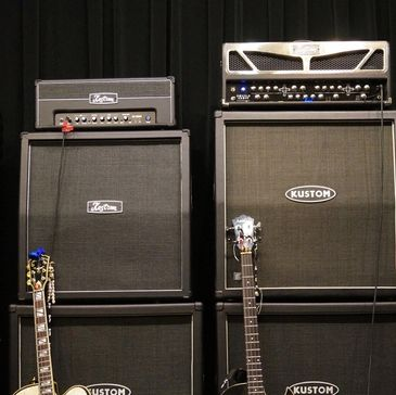 Kustom Amps, Washburn Guitars, Yamaha Guitars, Bass Guitars
