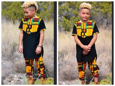 AFRICAN BOYS KENTE PANT SUITS, BOYS DASHIKI PANT SUITS, BOYS ANKARA PANT SUITS, AFRICAN FASHION