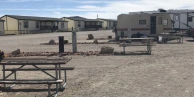 RV Area with picnic tables