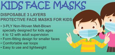 Personal protective equipment for kid's.