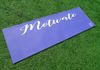 """Motivate"" (Purple) Yoga Mat"