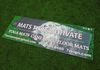 """Mats That Motivate"" Table Banner Yoga Mat (Display Only)"