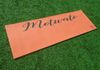"""Motivate"" (Orange) Yoga Mat"