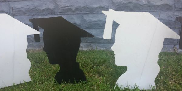 graduation surprise lawn display yard display yard card party decorations adult birthday party