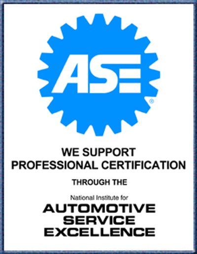 ASE Certification | Atlanta Volvo Service and Repair