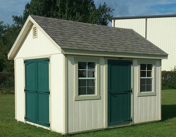 Classic Workshop with optional 3' door & 8 pitch roof
